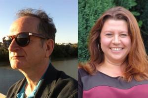 Simon Booker and Lisa Cutts
