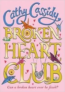 Stockton Cathy Cassidy - Broken Heart Club - Book Cover
